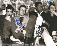 DEAD KENNEDYS GROUP HAND SIGNED AUTHENTIC AUTOGRAPH 8X10 PHOTO B w/COA PROOF X3