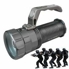 TORCIA TATTICA MILITARE 28000 LUMEN 58000W LED T6 RICARICABILE DS POTENTE