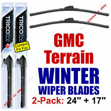 WINTER Wiper Blades 2-Pack Premium - fit 2010+ GMC Terrain - 35240/170