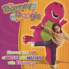 Barney, The Barney Boogie CD Discover with Barney