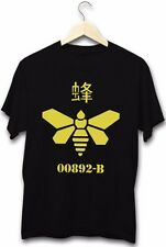 Breaking Bad Golden Moth Bee Drugs Meth Barrel Ice Shard TV Show Black T-Shirt