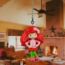 Strawberry Shortcake Life is Delicious Ceiling Fan Pull Light Lamp Chain K1058 K