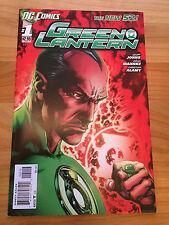 9 Green Lantern comics (New 52) #1-9 by Geoff Johns