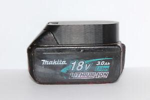 2x Black battery holder / cover for Makita BL1820 BL1830 BL1840 BL1850 18v