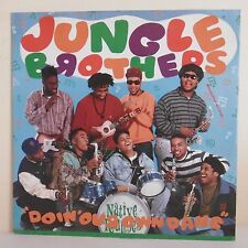 MAXI 33T RPM JUNGLE BROTHERS Disque DOIN' OUR OWN DANG - W.B RECORDS 0-21728