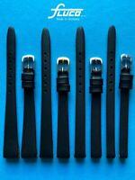 Uhrenarmband für feste Stege mit Clip 6 8 10 12mm feinstes Kalbsleder, Germany