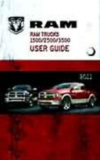2011 Ram Truck 1500 2500 3500 Owner's Owner Owners User Manual Kit 05145546AB