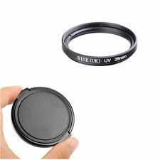 39mm Ultra-Violet UV lens Filter Protector for Nikon Canon Sony Pentax Sigma+Cap