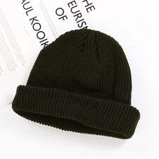 Unisex Men&Women Beanie Hat Warm Ribbed Winter Turn Ski Fisherman Docker Hat/SHX