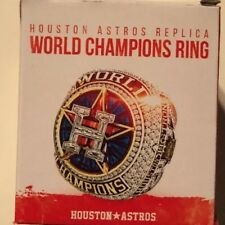 2017 Houston Astros Replica World Series Ring 06/20/18 HOUSTON STRONG
