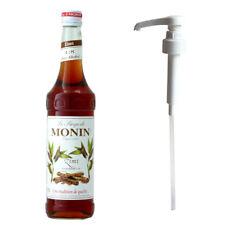 MONIN Coffee Syrup CINNAMON 70 CL and Pump