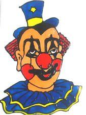 Fensterbild Clown In Window Color Bilder Gunstig Kaufen Ebay