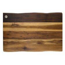Gripper Natural Acacia wood non slip cutting chopping board 17x 11 paypal CNY17
