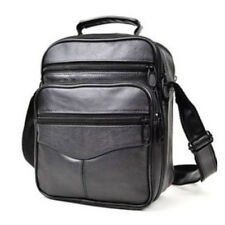 Causal Men's Leather Shoulder Cross Body Messenger Bags Travel Satchel Handbag