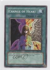 2004 Yu-Gi-Oh! Starter Deck Pegasus 1st Edition SDP-030 Change of Heart Card 0b5