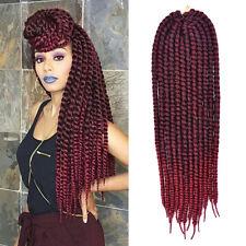 1PCS 24 inch Ombre Bug Synthetic Havana Mambo Twist Crochet Braid Hair Extension
