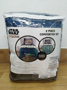 Star Wars Mandalorian 2 Piece Comforter Set Size Twin/Full