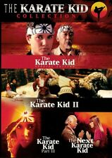 The Karate Kid Collection Box Set - 4 movies (DVD 3 disc) Ralph Macchio NEW