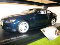 BMW  M6 F13M COUPE bleu LHD 1/18 PARAGON PA - 97052 voiture miniature collection