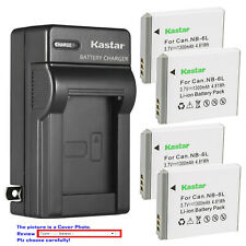 Kastar Battery Wall Charger for Canon NB-6L NB6LH CB2LY Canon PowerShot SX540 HS