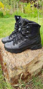 Haix Scout black, Gr. 44  # Bushcraft, Prepper, Wandern, Motorrad
