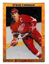 1989-90 Steve Yzerman Orange Oddball Hockey Card NrMt-Mt
