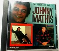 You Light Up My Life/Mathis Magic by Johnny Mathis (CD 2015, Funky Town) 2 On 1