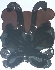 "Carlos Amorales "" Mariposas Negras III "" HAND SIGNED  renowned Mexican artist"