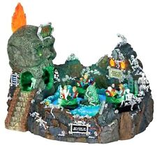 Lemax 24469 SKULL RIVER Spooky Town Carnival Ride Amusement Park Halloween New I