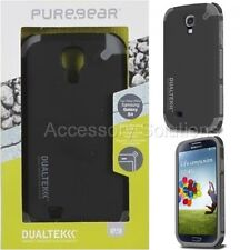 PureGear Samsung Galaxy S4 Dualtek Extreme Impact Rugged Case Cover Black