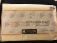 SHEEX Pro Cotton Performance Sheet Set Cal King Ivory