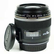 Canon EF-S 60mm f/2.8 EF-S Macro USM Lens
