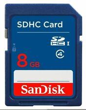 SanDisk 8GB SD Card SDHC SDXC Memory Card Class 4 8GB Digital Cameras Genuine