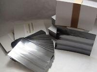 100 Leuchtturm Einsteckkarten C6 mit 3 Streifen und Deckblatt