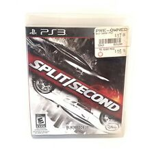 Split/Second PS3 (Sony PlayStation 3) Tested & Complete