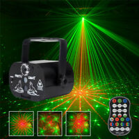 60 Patterns Laser Stage Lighting Projector RGB LED USB Light Party Disco Lamps