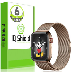 6x IQ Shield Clear Screen Protector for Apple Watch Series 4 (40mm) Easy Install