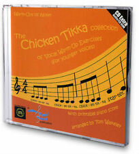 CHICKEN TIKKA COLLECTION of VOCAL WARM-UP EXERCISES CD + Printable Piano Score