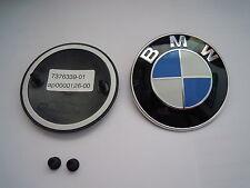 Original BMW Emblem Klebefolie  Motorhaube Kofferraumdeckel 7376339  8132375 NEU