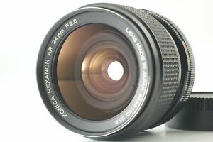 [N.Mint] Konica Hexanon AR 24mm f2.8 Wide Angle Lens From Japan