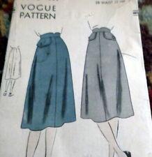 LOVELY VTG 1940s SKIRT VOGUE Sewing Pattern WAIST 28