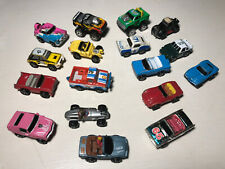 Micro Machines And Other Miniature Vehicles Lot Of 17