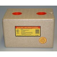Magic Worm Farm With Bedding/Food 1000