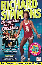 Richard Simmons Sweatin' to the Oldies 5 DVD Box Set Exercise Videos 20th Ann.