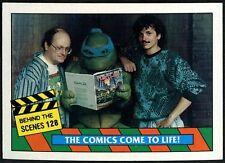 Behind The Scenes#128 Teenage Mutant Ninja Turtles Movie 1990 Topps Card (C1324)