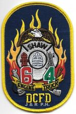 "Washington D.C.  Engine - 6 / Truck - 4  ""SHAW""  (3.25"" x 5"" size) fire patch"