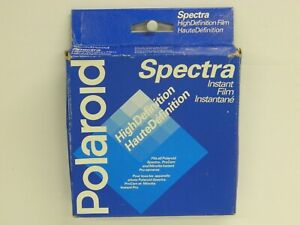 POLAROID High Definition Spectra Instant Film Sealed Box of 10 Made in Canada//