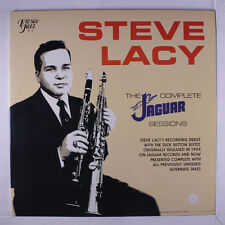 STEVE LACY: The Complete Jaguar Sessions LP (drill hole, sm clear toc) Jazz