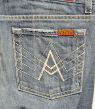 7 For all Mankind A Pocket Boot Cut Flare Jeans sz 27