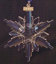 SWAROVSKI CRYSTAL 2006  ANNUAL SNOWFLAKE CHRISTMAS ORNAMENT MINT IN  BOX
